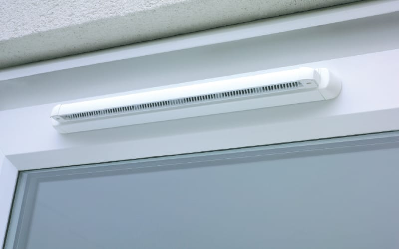 SF Xtra Sound Attenuator window vent
