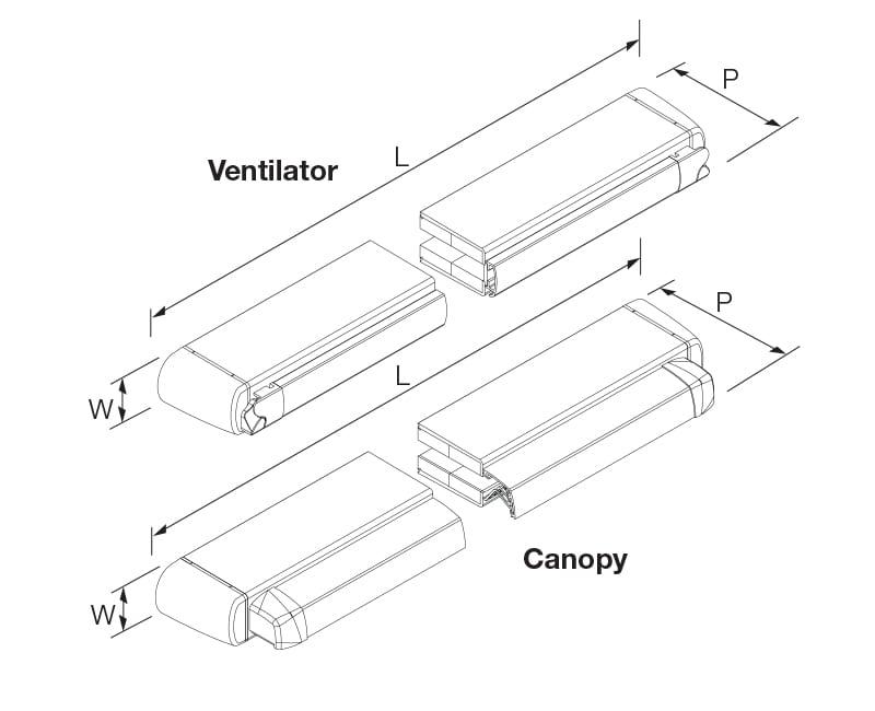 Acoustic Trickle Vents - Sound Attenuating ventilators