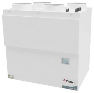 MVHR ventilation unit