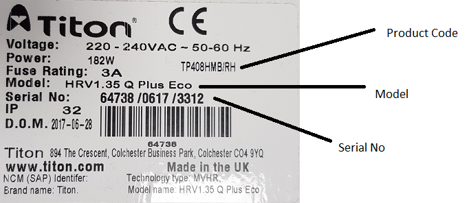 support label